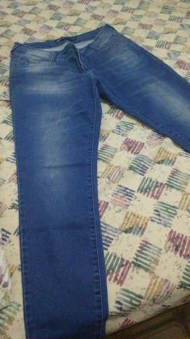 Calça feminina jeans Hering 46