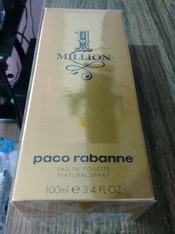 1 Million Paco Rabanne 100ml original novo lacrado São Caetano do Sul SP