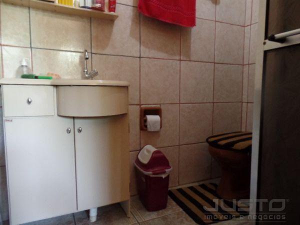 Casa à venda com 2 dormitórios em Santos dumont, São leopoldo cod:7278 - Foto 12