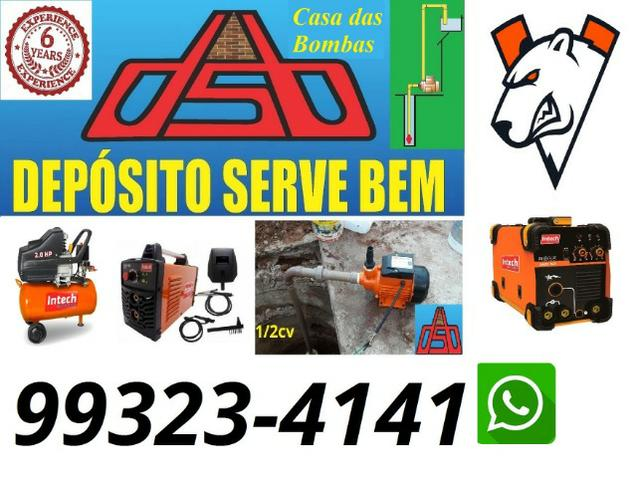 Bomba poço Semi Artesiano 1/2cv 127v (Promoçao) - Foto 3