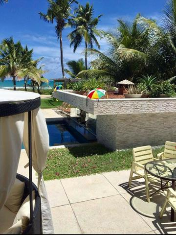 Luxuosa casa duplex com mobília sofisticada á beira mar da reserva do paiva confira-E - Foto 12