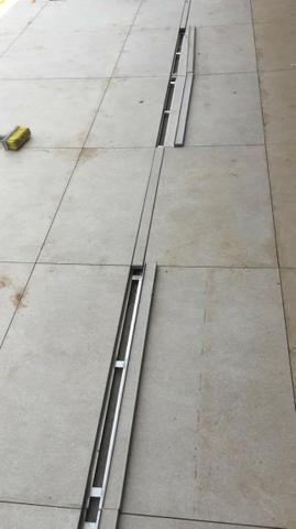Ralo linear infinito 1 m x 6 cm Para Piscinas e Áreas externas - Foto 6