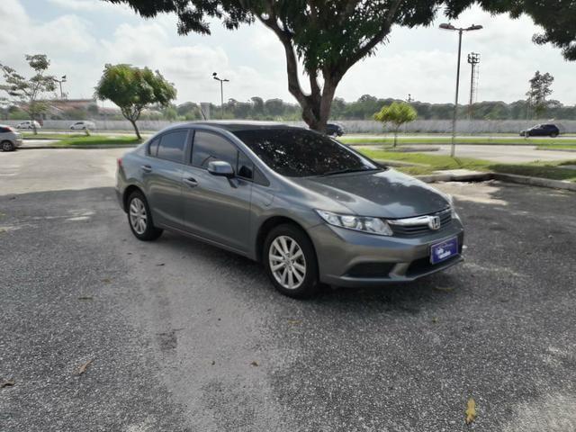 Honda civic lxs 1.8 at 2014 r$ 49.900,00. só na rafa veículos, consultor eric * - Foto 2