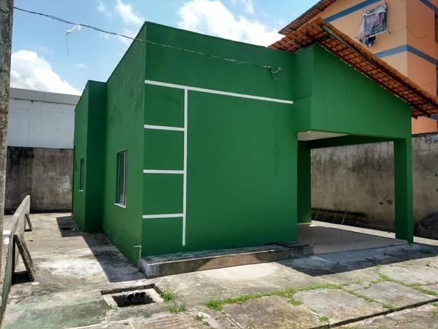Cactos Centro de Ananindeua 150 metros da BR casas 2/4 em condomínio fechado com laje - Foto 8