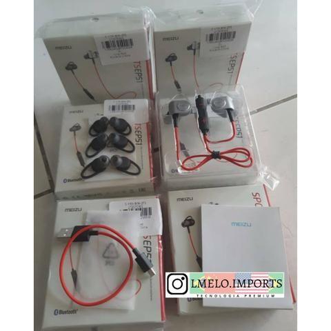Fone Esportivo Bluetooth Meizu Ep51 Vermelho Original Sport | Última Peça - Foto 3