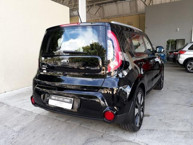 Kia 2016 soul 1.6 ex Automatico top de linha impecável garantia de fábrica teto confira - Foto 4