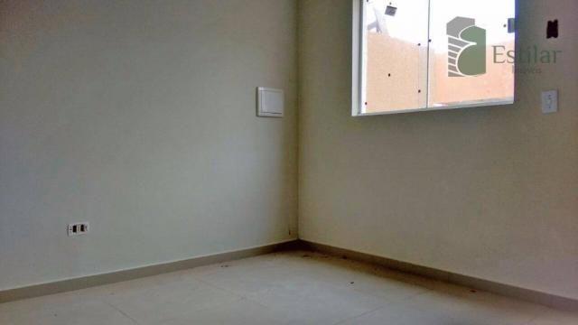 Sobrado 03 quartos (1 suíte) no Alto Boqueirão, Curitiba. - Foto 13