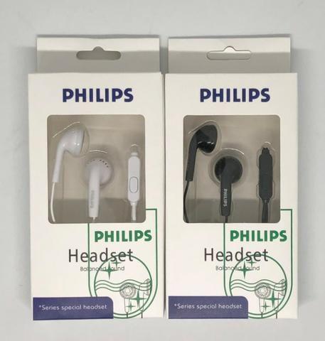 Fone de Ouvido Earphones Philips com Fio Produto Novo na Caixa
