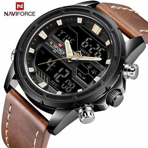 2f295748d95 Relógio Masculino De Luxo Naviforce Original Promoção - Bijouterias ...