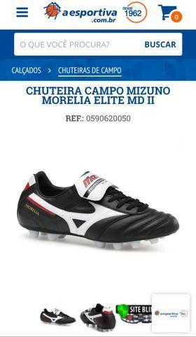 Chuteira Mizuno Morelia - Futebol de Campo - Esportes e ginástica ... 940b565fe4005