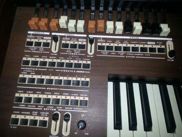 Órgão Tokai Md-10 Marrom - Foto 2