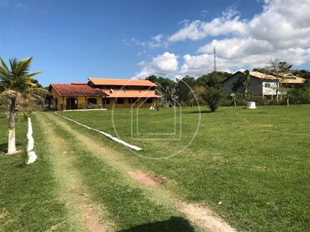 Sítio à venda com 4 dormitórios em Caxito, Maricá cod:887377
