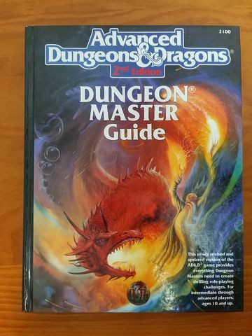 RPG AD&D 2nd Edition - Dungeon Master Guide + Player's Handbook + Brinde - Foto 2