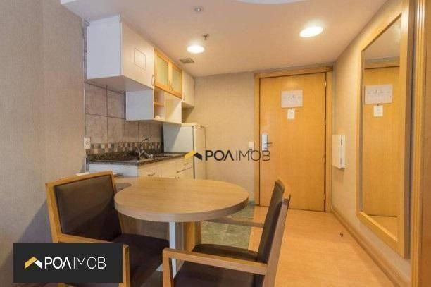 Apartamento mobiliado com 01 dormitório no Moinhos de Vento - Foto 4