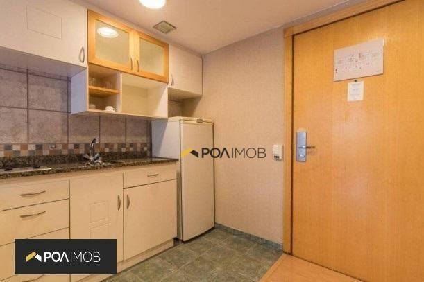 Apartamento mobiliado com 01 dormitório no Moinhos de Vento - Foto 5