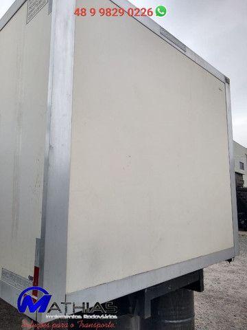 Baú frigorifico 14 paletes Peixeiro Comp 7.50m Mathias Implementos - Foto 3