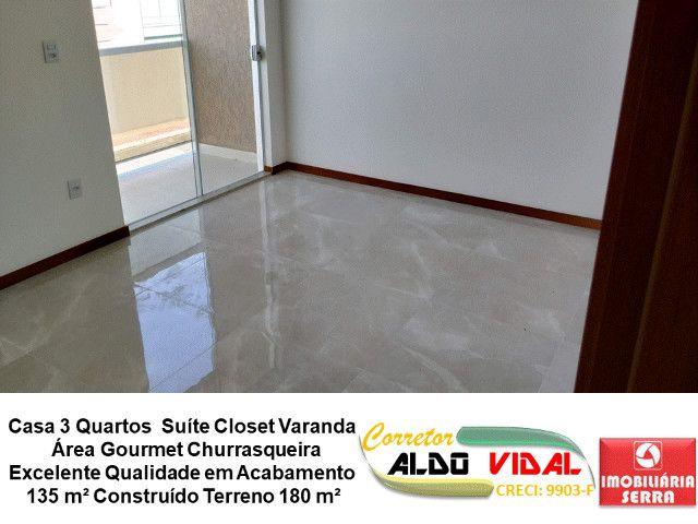 ARV 11. Casa 3 Quartos, Varanda, Suíte, Churrasqueira, Quintal Grande - Foto 3