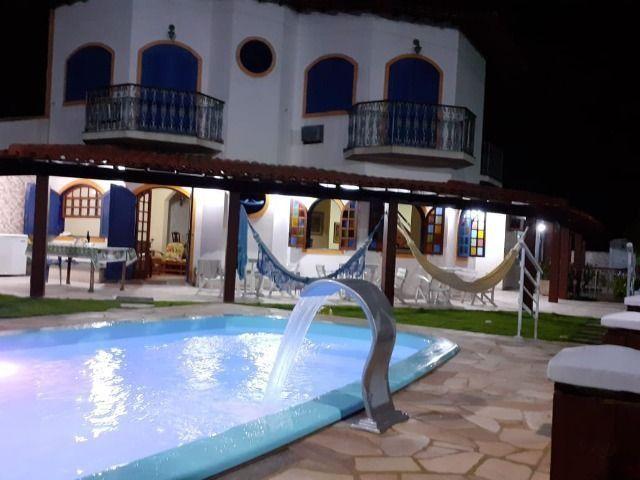 Casa Frente praia-Piscina Cond. fechado. Local Privilegiado - Praia Linda-4 qtos suites - Foto 2