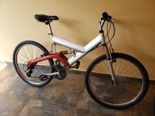 Bike montada aro 26