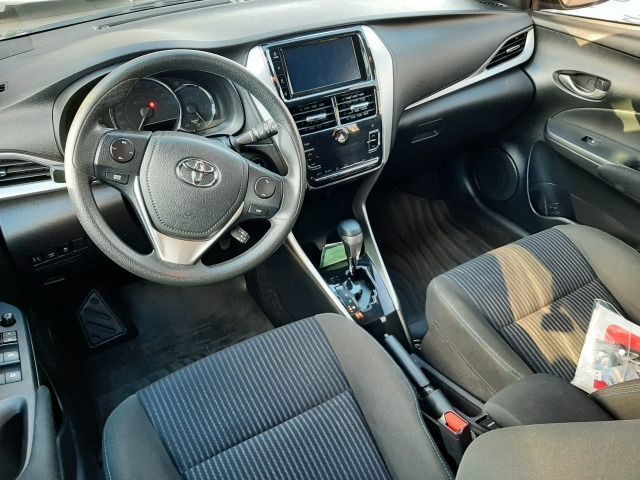 50% entrada + 48x 1.113,00 - Toyota Yaris XL Automático 2019 - Só 48.300km - Foto 5
