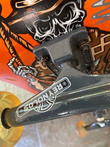 Skate Profissional Montado - Foto 2