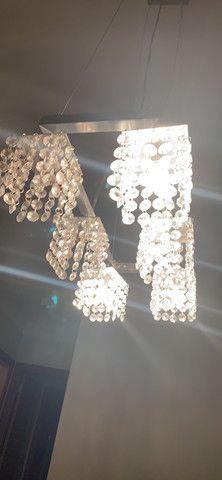 Lustre cristais - Foto 2