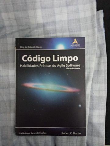 Livro Código Limpo Português Seminovo - Foto 2