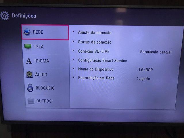 Blu Ray Player LG PERFEITO ESTADO - PRA SAIR HOJE! - Foto 3
