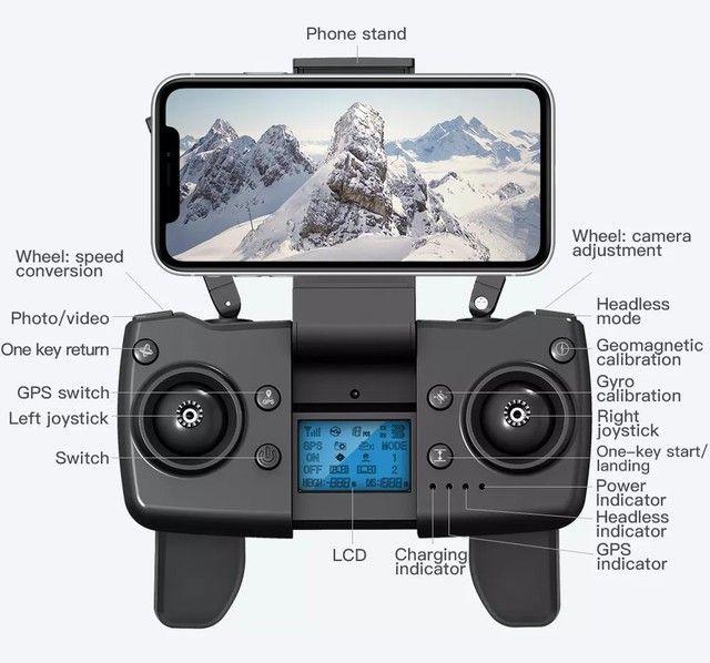 Drone L900 Pro 4k GPS Distância 1,2km Vôo 25mins Função Siga-me automático PROMOÇÃO - Foto 2