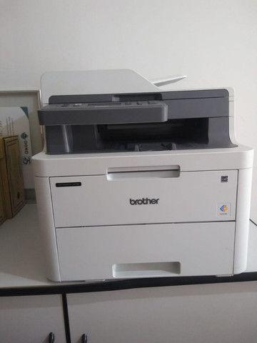 Impressora a Laser Brother DCP l3551 CDW - Foto 2