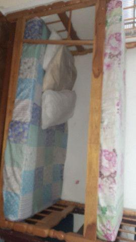 Vende se camas de solteiro  colchão  e beliche  em Peruíbe   - Foto 3