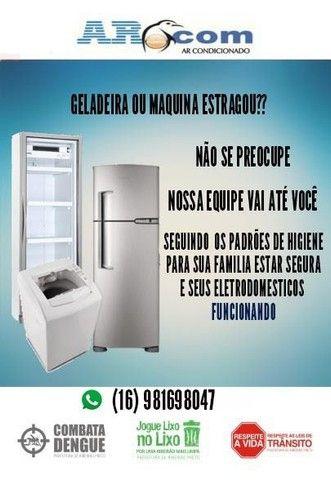 Assistência técnica em geladeira e lavadora, orçamento se compromisso