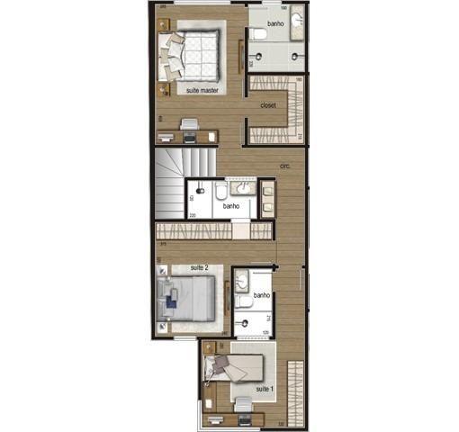 Casa duplex , 03 quartos, 04 vagas, 132,00 m², Bairro Itapoã. - Foto 9