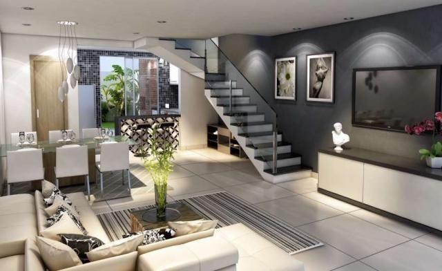 Casa duplex , 03 quartos, 04 vagas, 132,00 m², Bairro Itapoã. - Foto 2