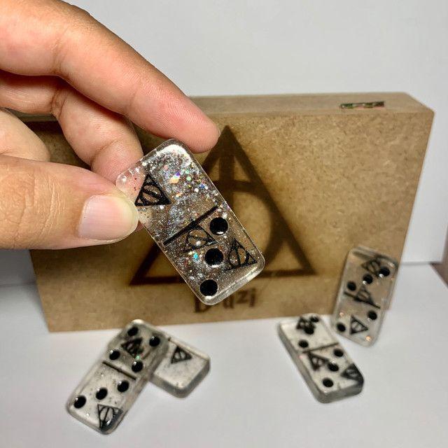 Jogo de dominó Personalizado Exclusivo  - Foto 5
