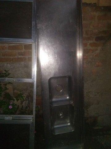 Pia + porta de armário com acrílico  - Foto 5