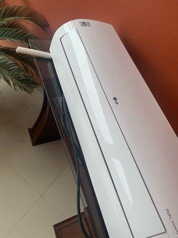 Vendo ar condicionado de 18000 btus LG dual inverter - Foto 2