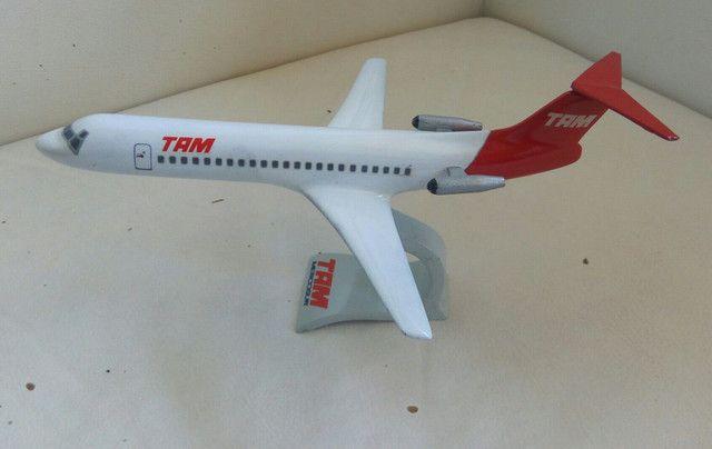Maquete do Fokker 100 TAM - Foto 5