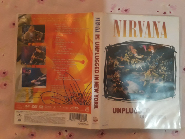 Dvd Nivana MTV Unplugged In New York  - Foto 3