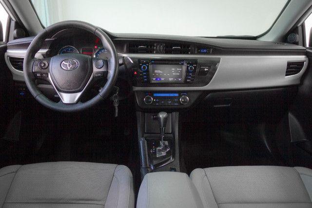 Toyota Corolla 2.0 XEI Blindado 2017 Branco Completo - Foto 7