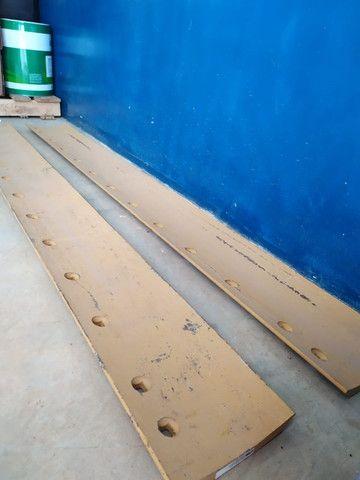 Lâmina para motoniveladora curva de 13 furos (peça para maquina) - Foto 3