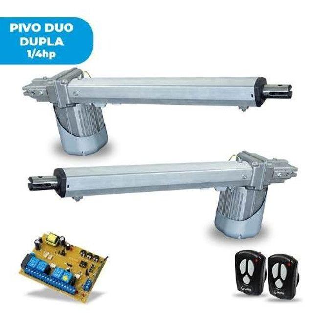 Motor Para Portão Pivotante Duplo Seg Pivus Duo 1/4HP Braço 0,75CM PV-01
