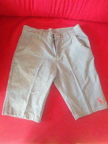 Bermudas Jeans Masculina tamanho 40