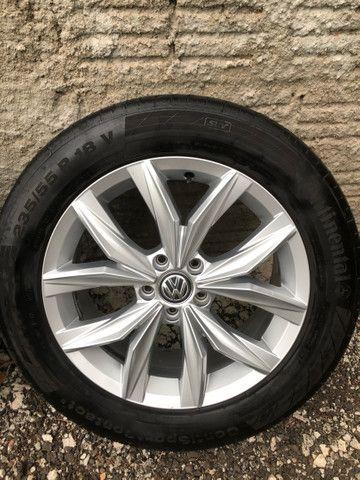Jogo de rodas Tiguan VW 5 furos aro 18 - Foto 6