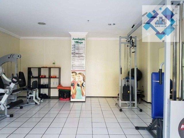 Apartamento com 3 dormitórios à venda, 90 m² por R$ 490.000 - Vila União - Fortaleza/CE - Foto 17