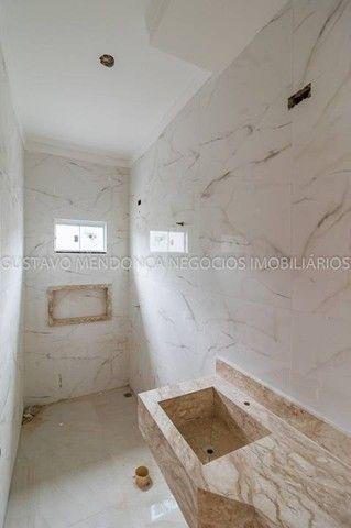 Linda casa nova no bairro Rita Vieira 1 - Alto padrão de acabamento e em excelente localiz - Foto 12