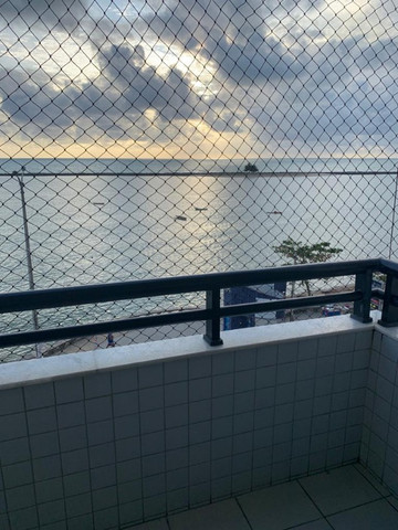 Excelente apt. a beira mar de Olinda, belíssima vista para o mar, ótima localização! - Foto 3