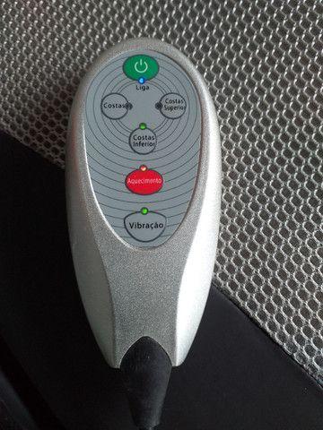 Assento Massageador Shiatsu Aquecimento - Relaxmedic (*Usado 01 vez*) - Foto 2