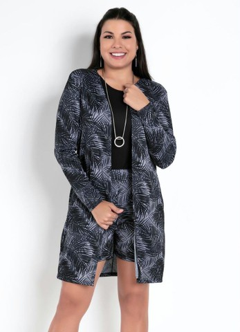 Conjunto Feminino inverno casaco sobretudo - Foto 6