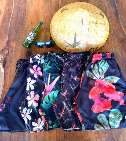 Camisa machão / bermudas moletom / bermudas praia - Foto 5